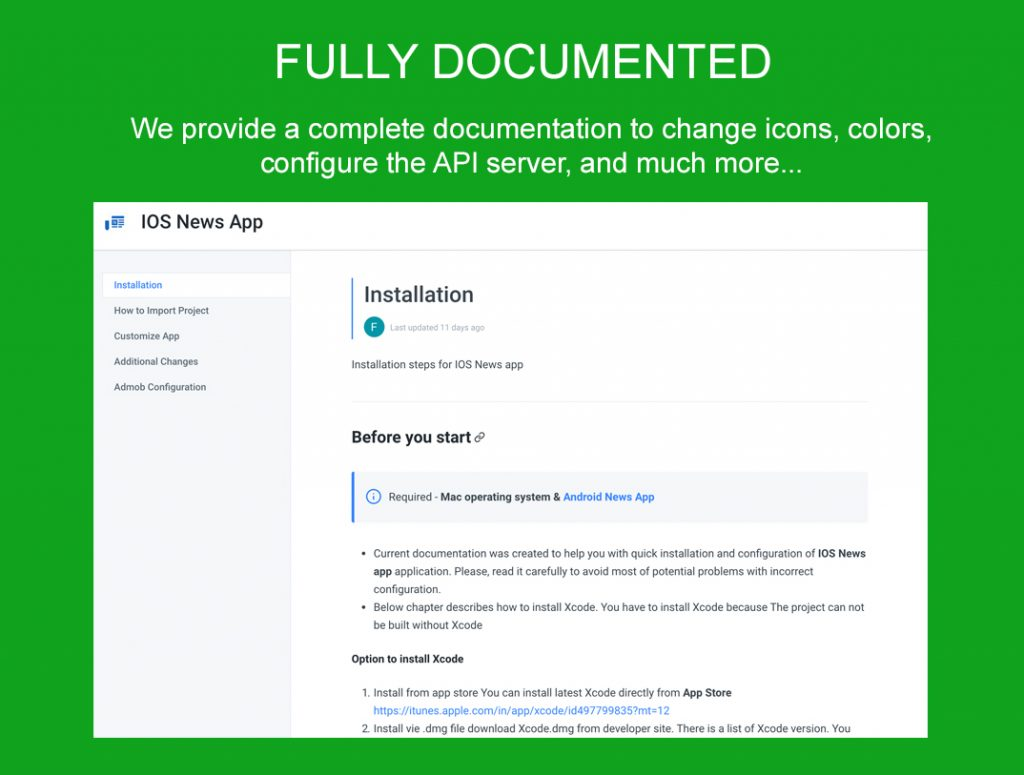 IOS News App - GaJo Developper